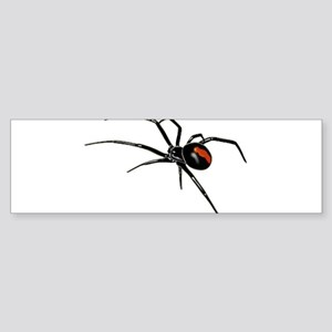 BLACK WIDOW SPIDER Bumper Sticker