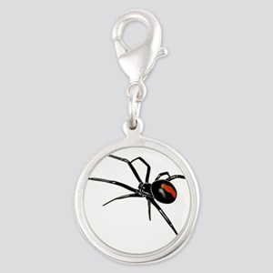 BLACK WIDOW SPIDER Charms