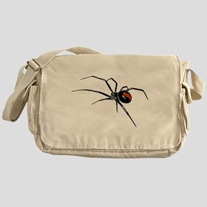 BLACK WIDOW SPIDER Messenger Bag