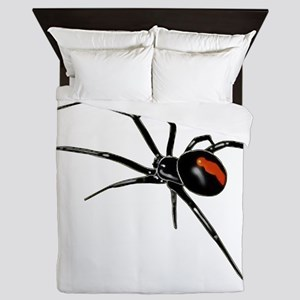 BLACK WIDOW SPIDER Queen Duvet