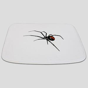 BLACK WIDOW SPIDER Bathmat
