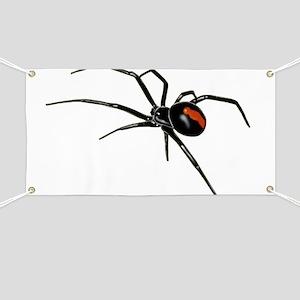 BLACK WIDOW SPIDER Banner