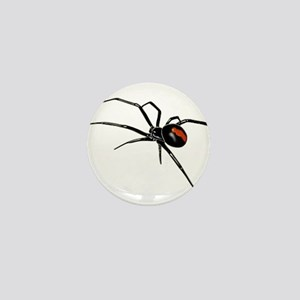BLACK WIDOW SPIDER Mini Button