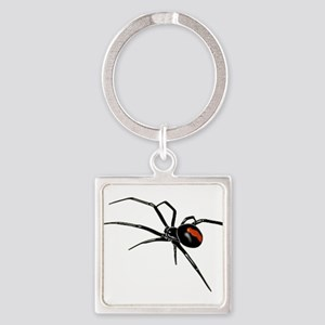 BLACK WIDOW SPIDER Keychains