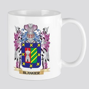 Blankier Coat of Arms (Family Crest) Mugs