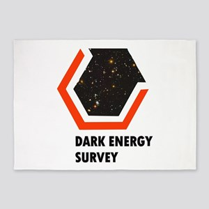 Dark Energy Survey 5'x7'Area Rug