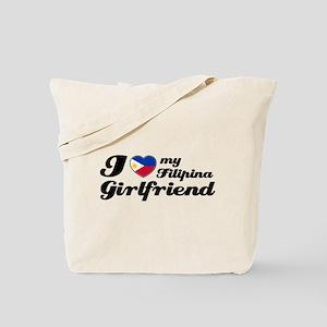 I love my Filipina girlfriend Tote Bag