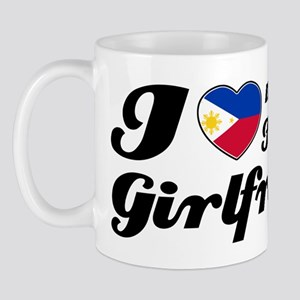 I love my Filipina girlfriend Mug