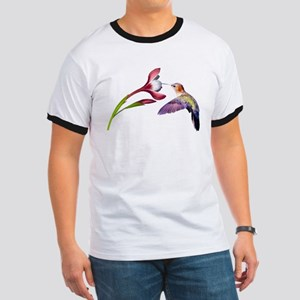 Hummingbird in flight Ringer T