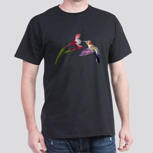 Hummingbird in flight Dark T-Shirt