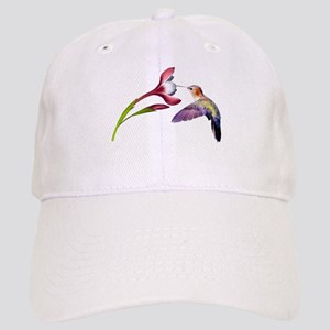 Hummingbird in flight Cap