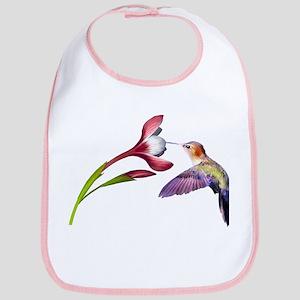 Hummingbird in flight Bib