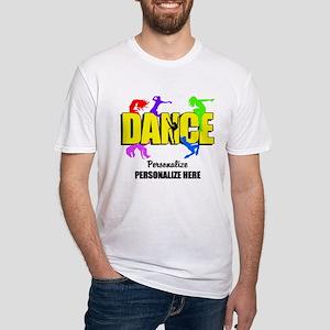 Dance Custom Fitted T-Shirt