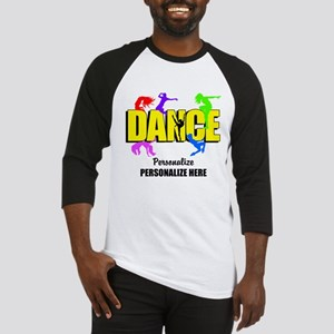 Dance Custom Baseball Jersey