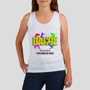 5e8f6b207444 Personalized Dance Women s Tank Tops - CafePress