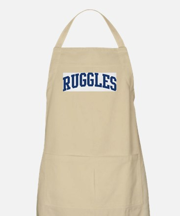 RUGGLES design (blue) BBQ Apron