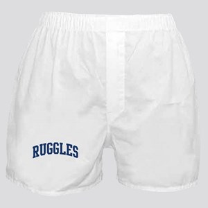 RUGGLES design (blue) Boxer Shorts