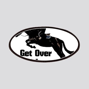 Get Over It! Horse Jumper Patch