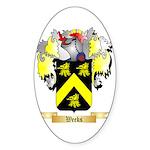Weeks Sticker (Oval 50 pk)