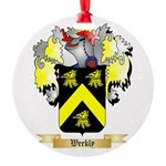 Weekly Round Ornament
