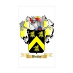 Weekley Sticker (Rectangle 50 pk)