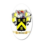 Weekley 20x12 Oval Wall Decal