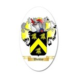 Weekley 35x21 Oval Wall Decal