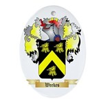 Weekes Oval Ornament