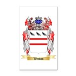 Weedon Rectangle Car Magnet