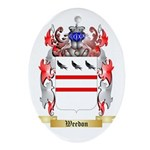 Weedon Oval Ornament