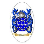 Webster Sticker (Oval 10 pk)