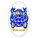 Webster Sticker (Oval 50 pk)