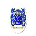 Webster 35x21 Oval Wall Decal