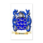 Webster 35x21 Wall Decal