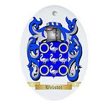 Webster Oval Ornament
