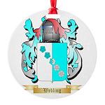 Webling Round Ornament