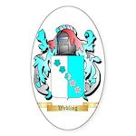 Webling Sticker (Oval 50 pk)