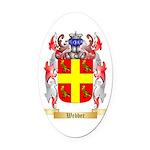 Webber Oval Car Magnet