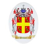 Webber Oval Ornament