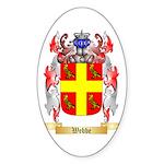 Webbe Sticker (Oval 50 pk)