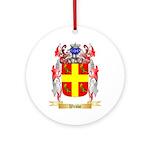 Webbe Round Ornament