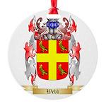 Webb Round Ornament