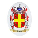 Webb Oval Ornament
