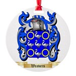 Weavers Round Ornament