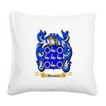 Weavers Square Canvas Pillow