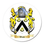 Weate Round Car Magnet
