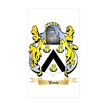 Weate Sticker (Rectangle 50 pk)