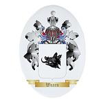 Wearn Oval Ornament