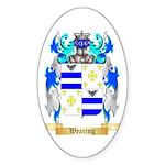 Wearing Sticker (Oval 50 pk)