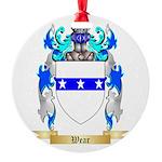 Wear Round Ornament